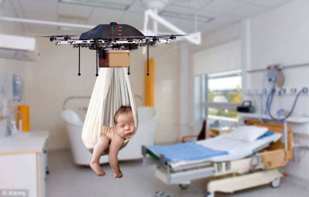 Irish Maternity Hospital Tests Baby Drone Delivery System