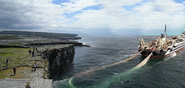 Biggest Island In The World >> Super Trawler Nets Inishmore – Waterford Whispers News